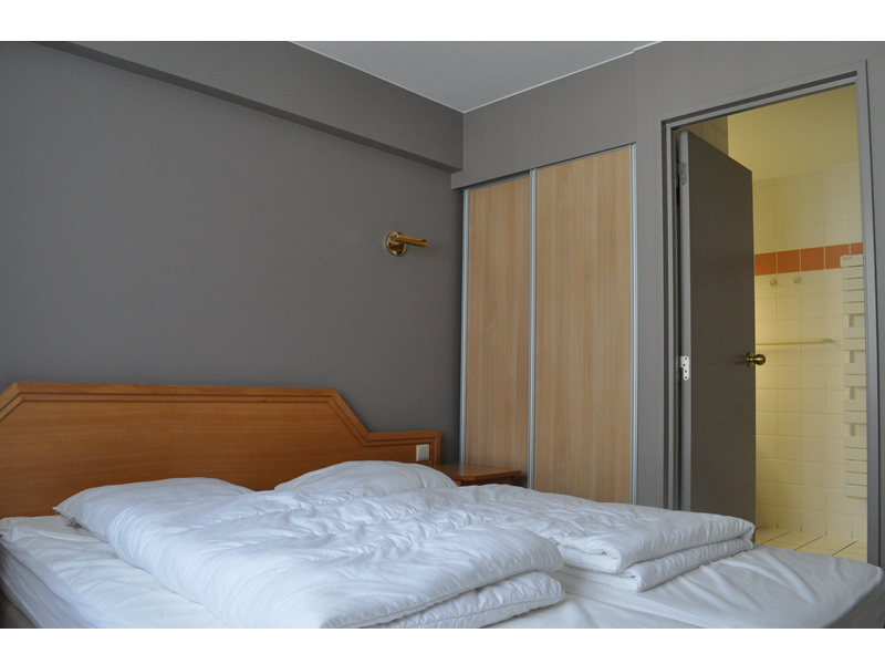 Slaapkamer Liberty hotel Blankenberge